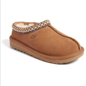 Kids Tazman Uggs in Chestnut